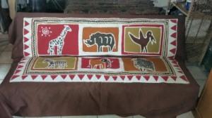 Batik Cover for my Sofa